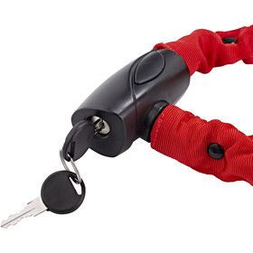 Red Cycling Products High Secure Chain Chain Lock 6mm x 1000mm, red